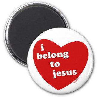I Belong to Jesus 6 Cm Round Magnet