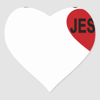 I Belong to Jesus Tshirts.png Heart Sticker