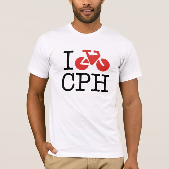 I Bike Copenhagen T-Shirt