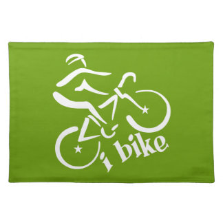 I BIKE custom placemats