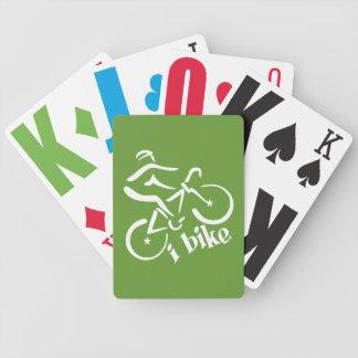 I BIKE custom playing cards