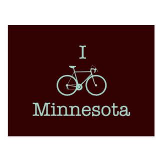 I Bike Minnesota Postcard