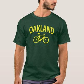 I Bike OAKLAND - Fixie Bike Design T-Shirt