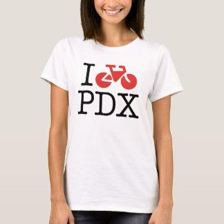 I Bike Portland Womens Shirt