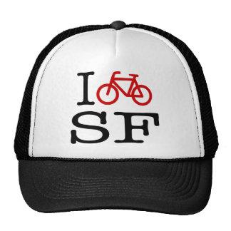 I Bike SF Cap