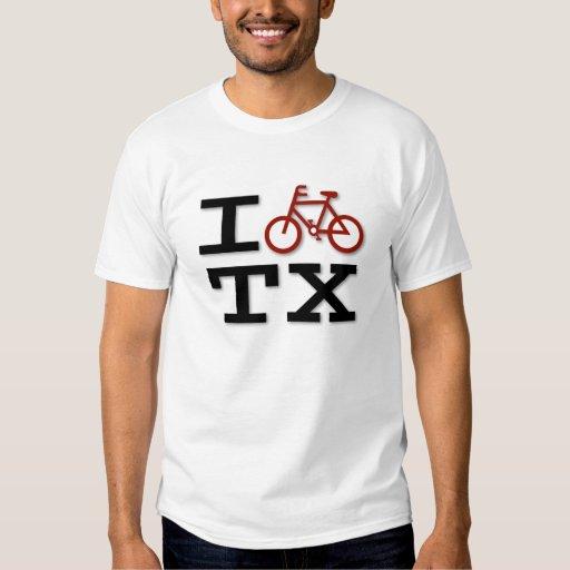 I bike texas t shirt zazzle for Texas tee shirt company