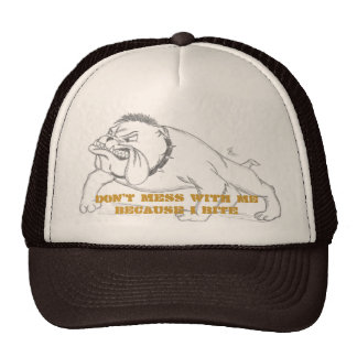 I bite hats