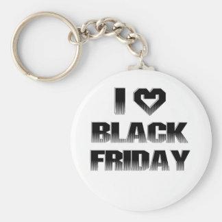 I ♥ Black Friday Key Chains