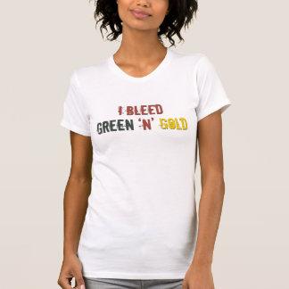 i bleed green n gold tanktop