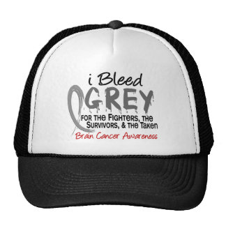 I Bleed Grey For The FST Brain Cancer Cap