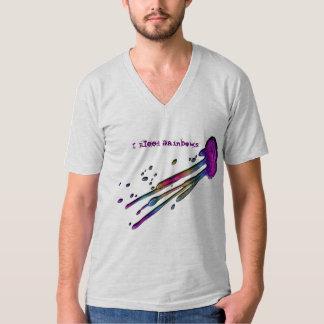 """I Bleed Rainbows"" Splash Shirt"