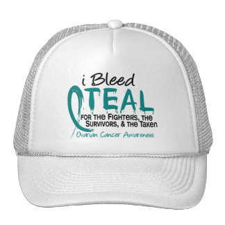 I Bleed Teal For The FST Ovarian Cancer Mesh Hat
