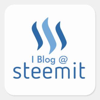 I Blog @ Steemit Sticker
