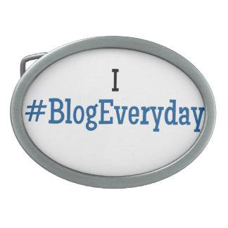 I #BlogEveryday Belt Buckle