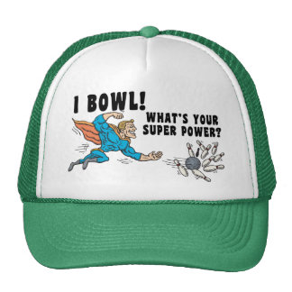 I Bowl What's Your Super Power Cap