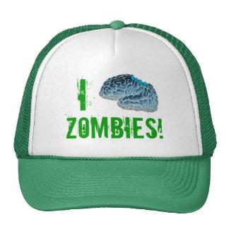 I Brain Zombies! Trucker Hat