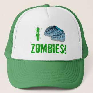I Brain Zombies! Trucker Hat