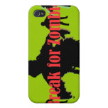 I Break for Zombies  iPhone 4/4S Cases