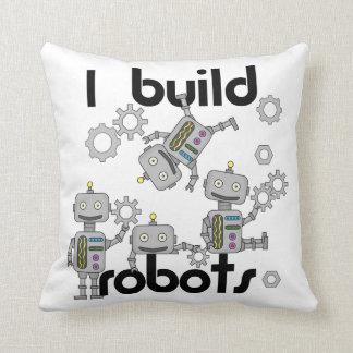 I Build Robots Cushion