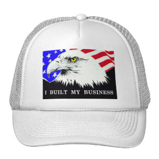 I Built My Business Political Anti-Obama Hat