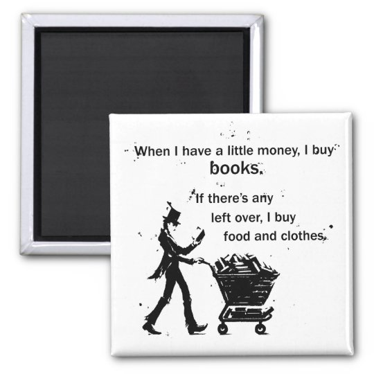 I Buy Books Magnet
