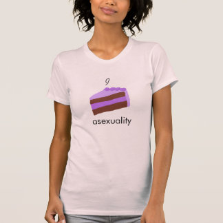 I 'cake' asexuality sleeveless t-shirt