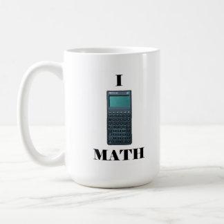 """I """"calculator"""" Math Mug"""