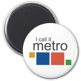 I Call It Metro 6 Cm Round Magnet