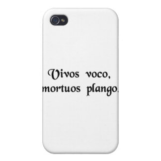 I call the living, I mourn the dead. iPhone 4/4S Case