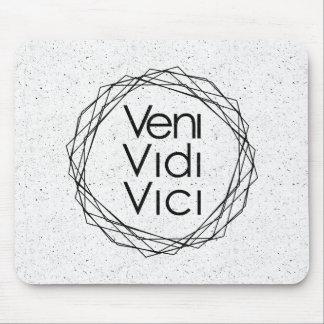 """I Came, I Saw, I Conquered """"Veni, Vidi, Vici"""" Mouse Mat"""