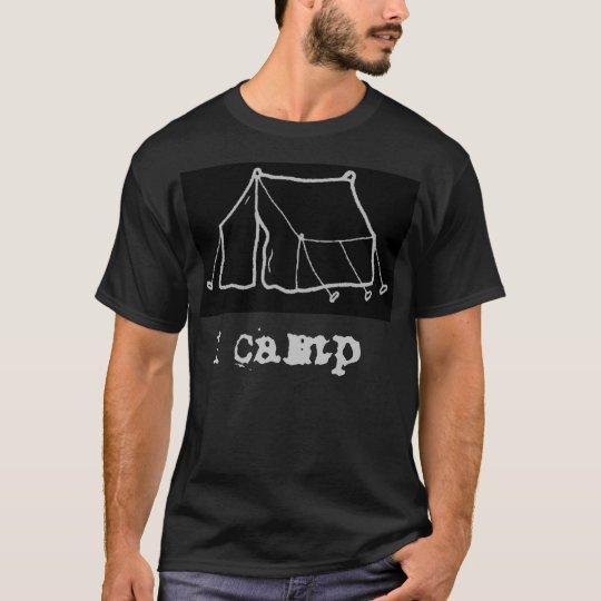 I Camp Blk T-Shirt