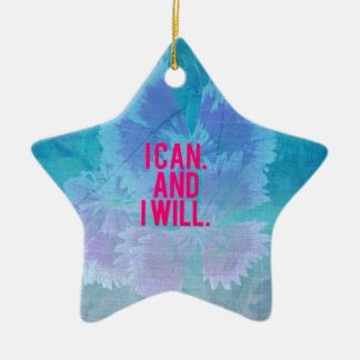 I can and I will! Christmas Ornament
