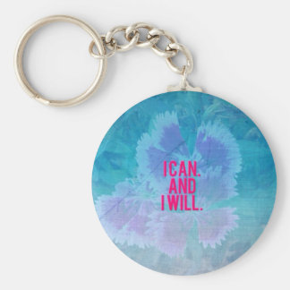 I can and I will! Basic Round Button Key Ring