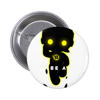 I can be a hero 6 cm round badge