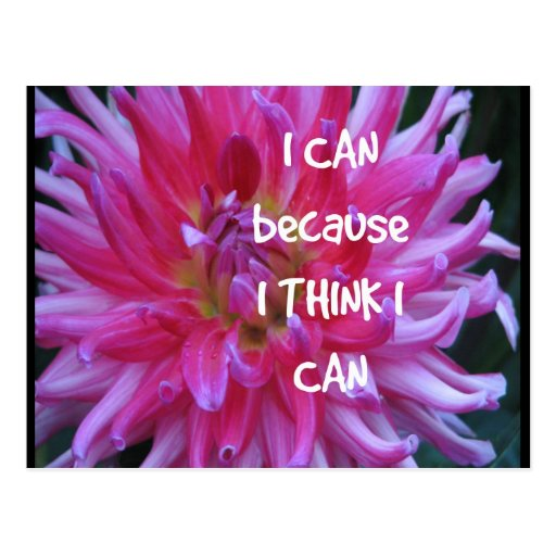 I Can Because I Think I Can Postcards