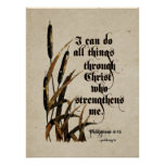 I can do all things (Philippians 4:13) Poster