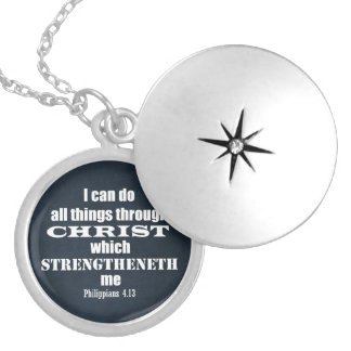 I can do all things Philippians Bible Verse Custom Jewelry