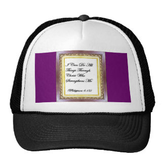 I Can Do All Things Through Christ Hat