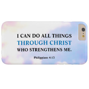 I Can Do All Things Through Christ IPhone 6 Plus Barely There Case