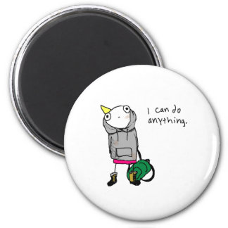 I can do anything. 6 cm round magnet