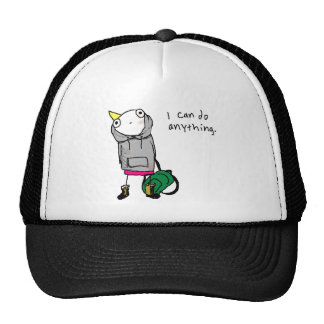 I can do anything trucker hats