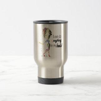 I can do Baseball in my Stiletto s Fun Digital Ar Coffee Mug