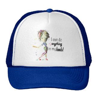 I can do Baseball in my Stiletto's! Fun Digital Ar Cap