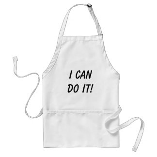 I Can Do It! Standard Apron