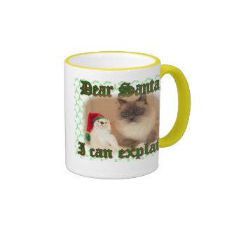 I can explain! coffee mug