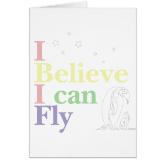 I Can Fly Cards