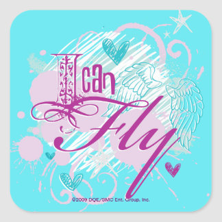I Can Fly Square Sticker