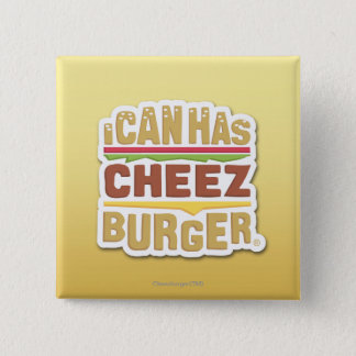 I Can Has Cheezburger (shadow) 15 Cm Square Badge