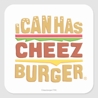 I Can Has Cheezburger Square Sticker