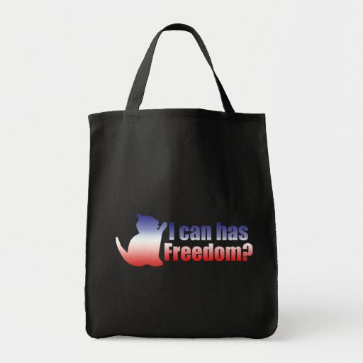 I can has freedom in the USA Bag